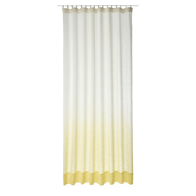 Curtain Nuée 225 cm Yellow