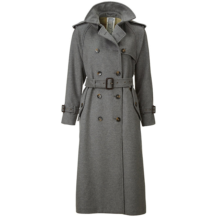 Damen-Trenchcoat lang