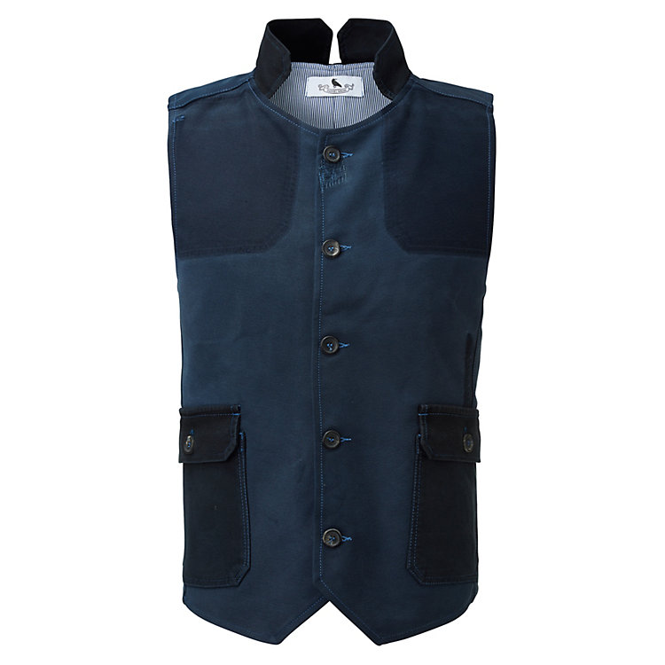Daniel Kroh Men's Vest Blue