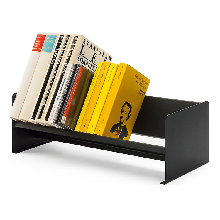 Desktop Bookcase Made Of Sheet Steel Black Manufactum