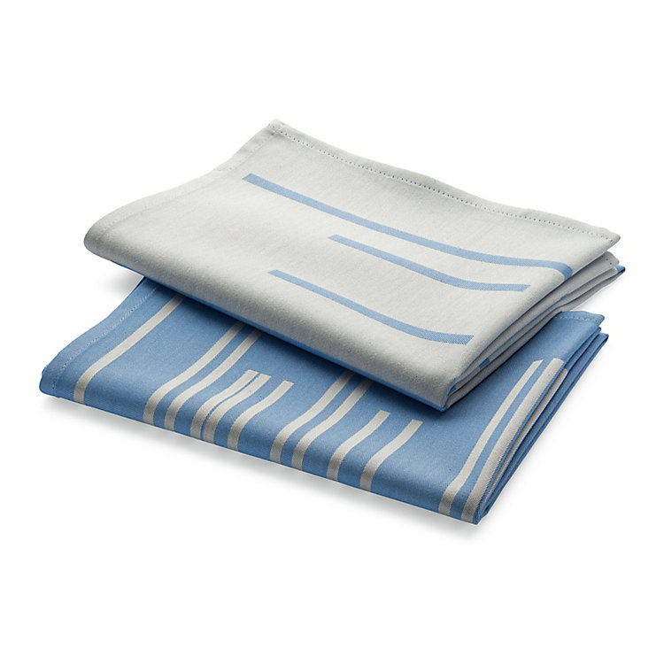 Dishtowel Bauhaus (2 Items) Blue