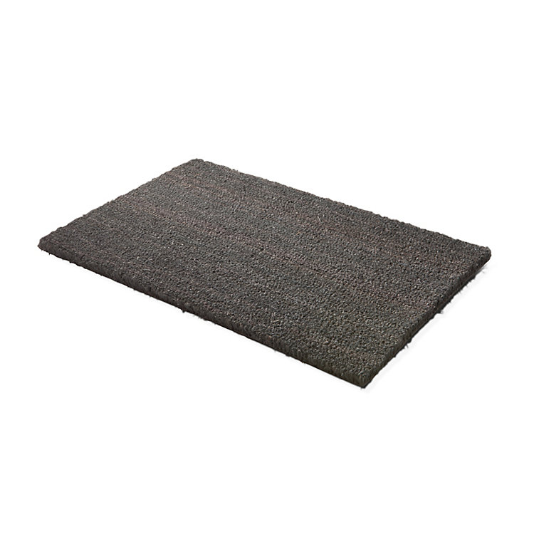 Doormat Bison Small Grey