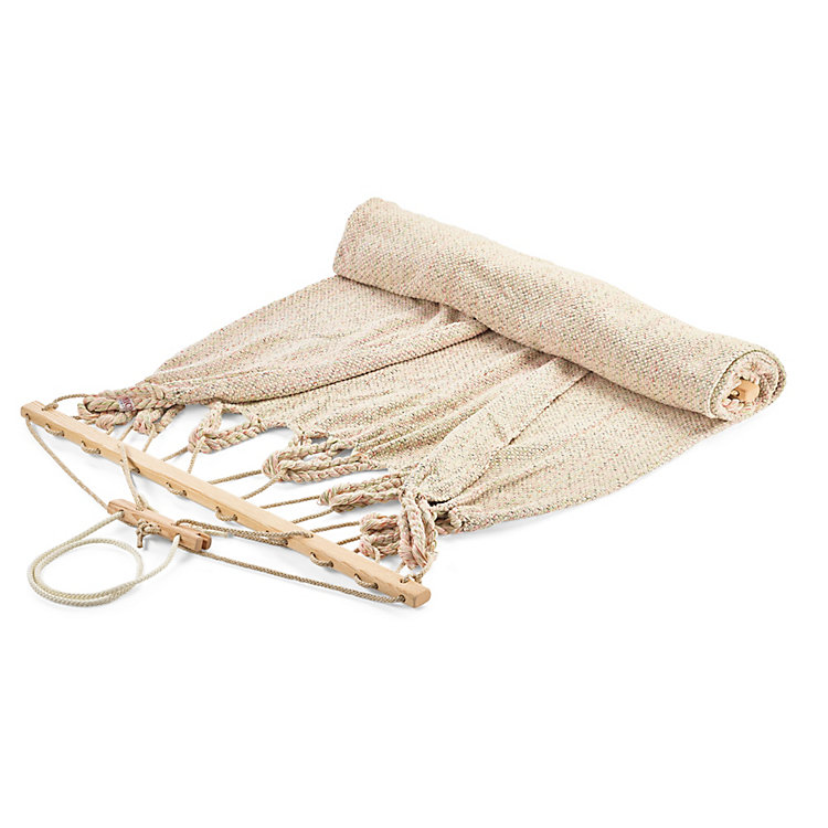 Double Hammock in Cotton Beige