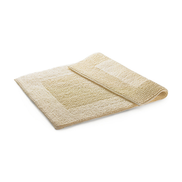 Double Pile Bathmat 50 x 75 cm Natural