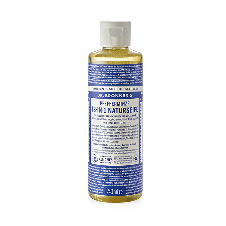 Dr. Bronner's Peppermint Shower Gel