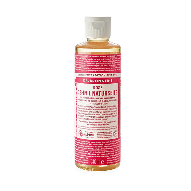 Dr. Bronner's Rose Shower Gel