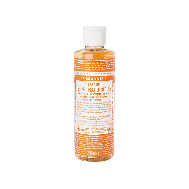 Dr. Bronner's Shower Gel Tea tree