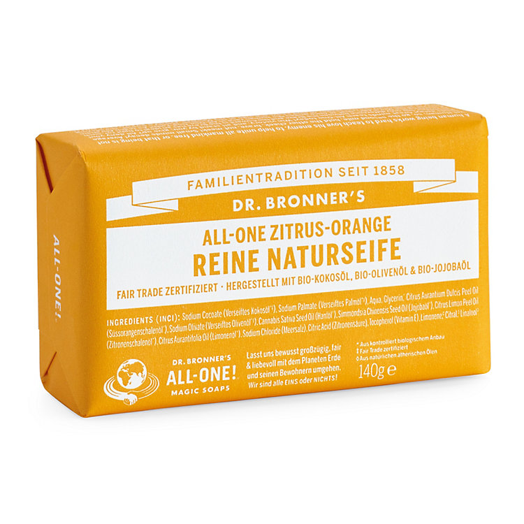 Dr. Bronner's Soap Bar Lemon