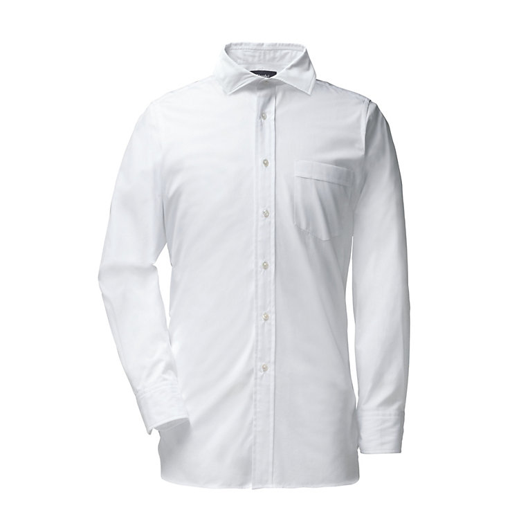 Drake's Feintwill men's shirt White