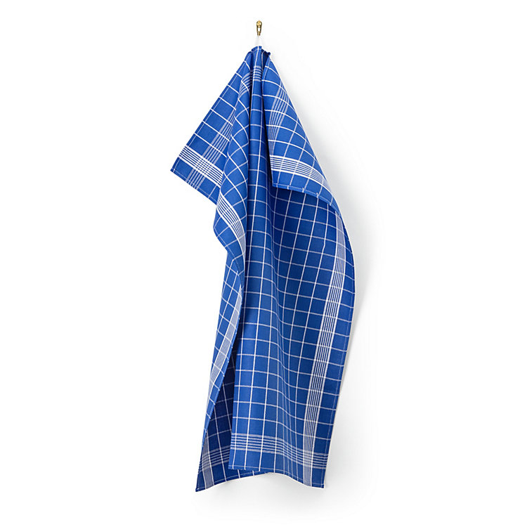 Dry Pearl Dish Towel Blue-White