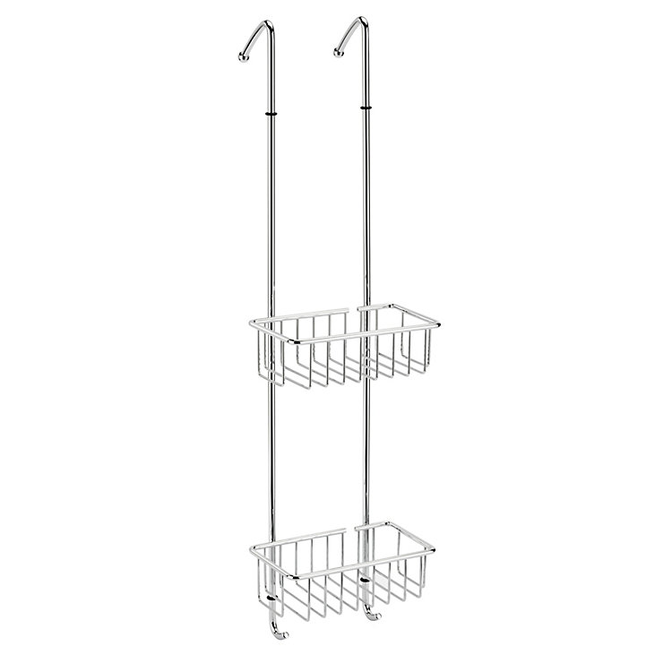 Dual Mobile Brass Shower Racks | Manufactum