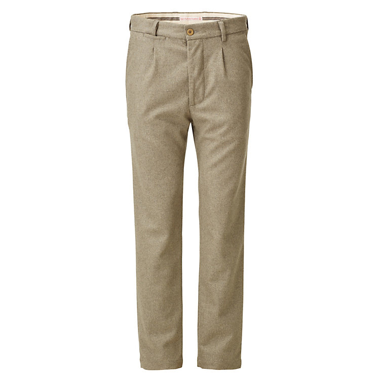 East Harbour Surplus Herren-Bundfaltenhose Graugrün
