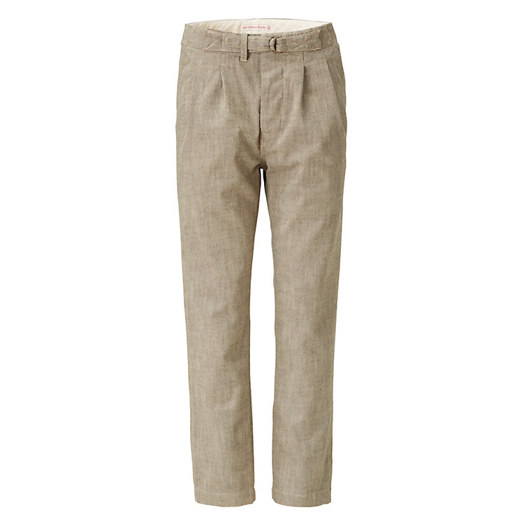 East Harbour Surplus Herrenhose mit Riegel Grün-Natur