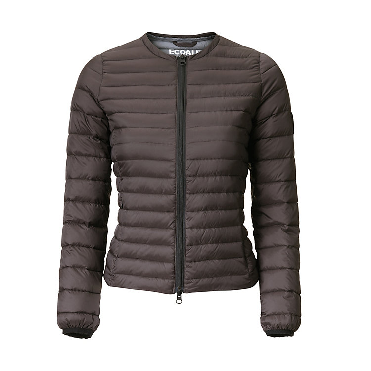 Ecoalf Women's Down Jacket Dark brown