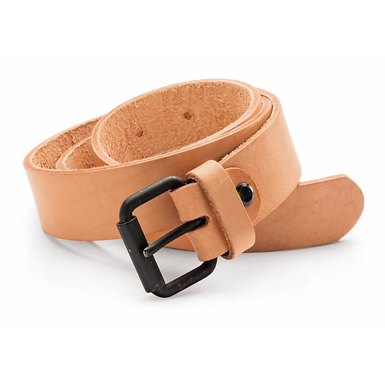 ekn Cattle Leather Belt Natural Coloured