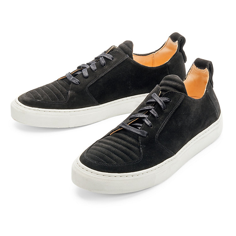 ekn Suede Leisure Wear Shoe Black