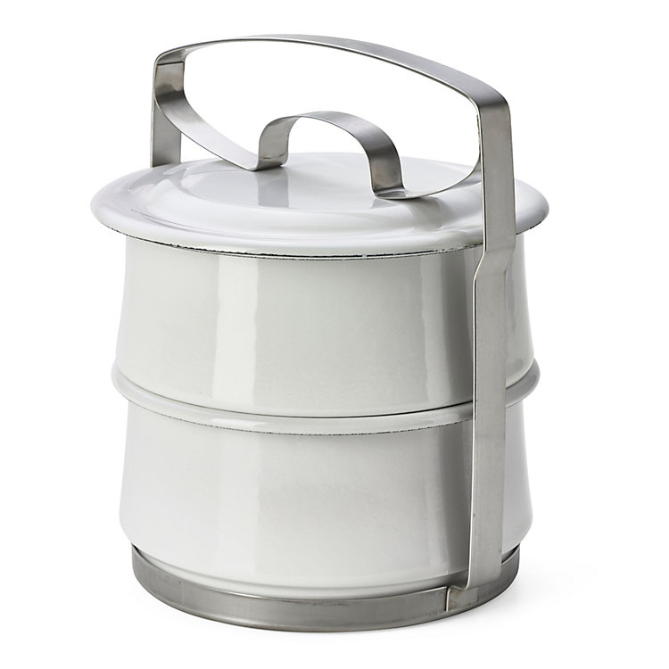 Enamel Lunch Box Carrier