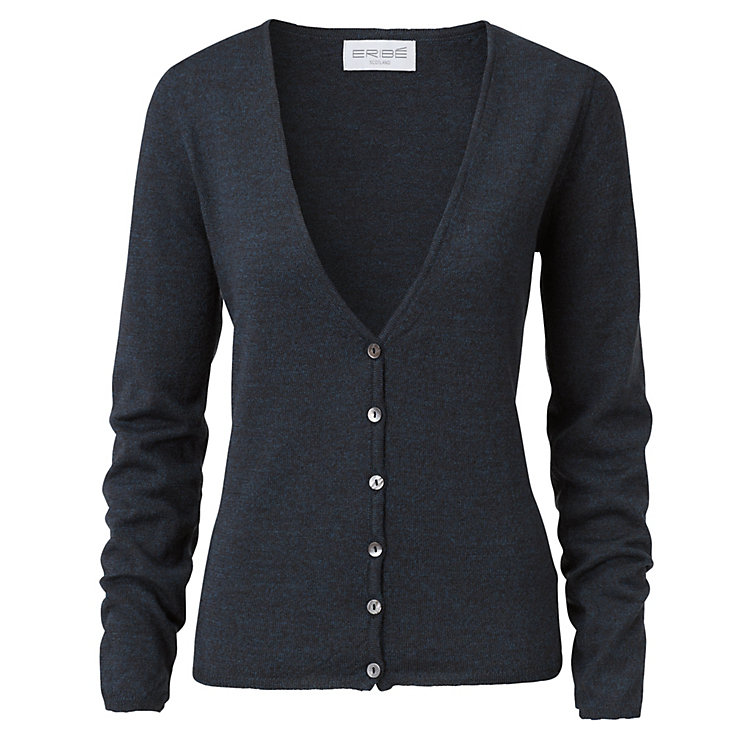 Eribé Women's Cardigan Brown-blue