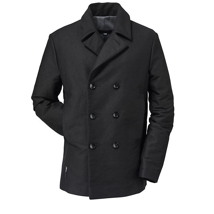 FHB Men's Moleskin Jacket Black