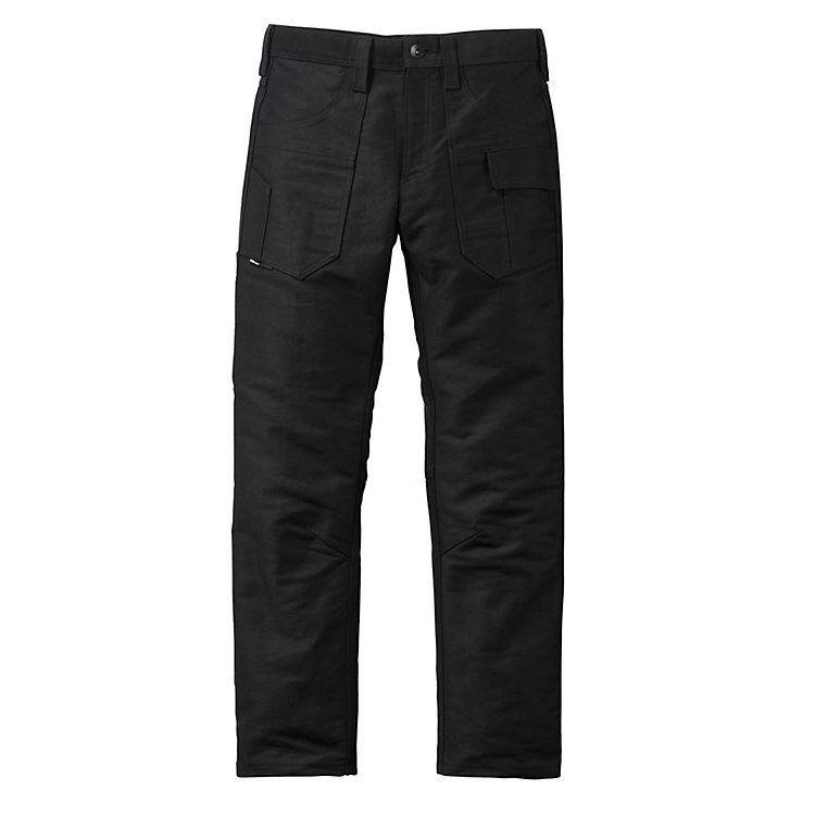 FHB Moleskin Work Pants, Black