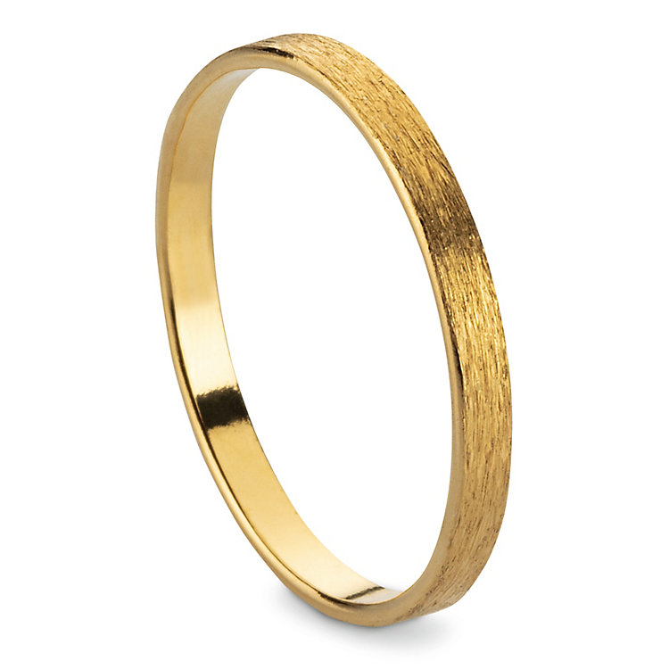 Fingerring Satin-Band, Gold
