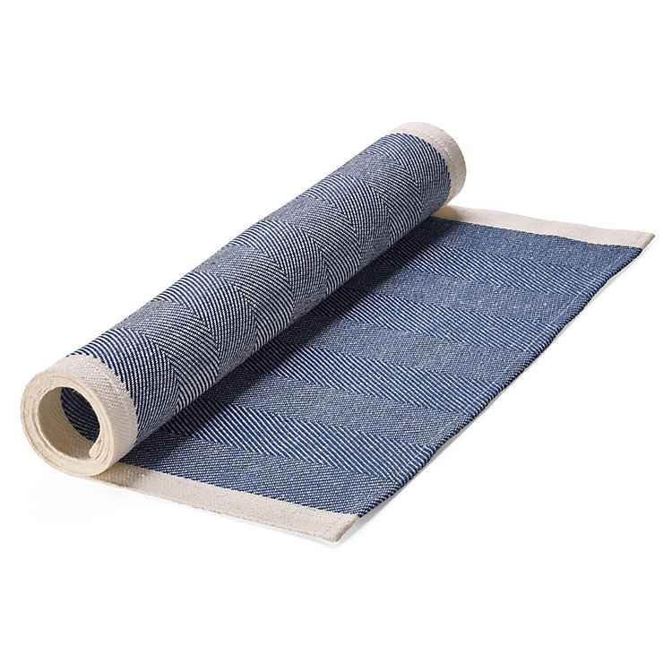 Finnish Table Runner, Blue