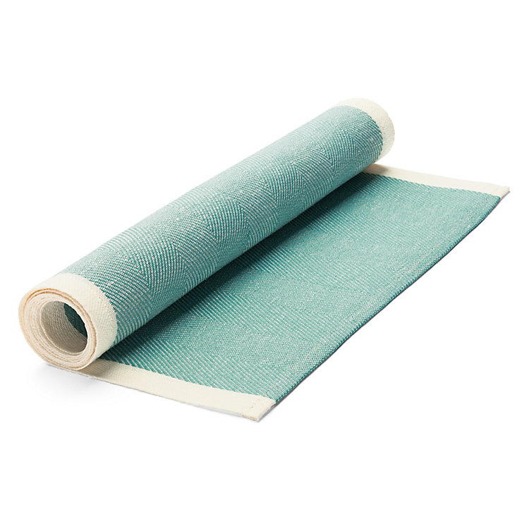 Finnish Table Runner, Turquois