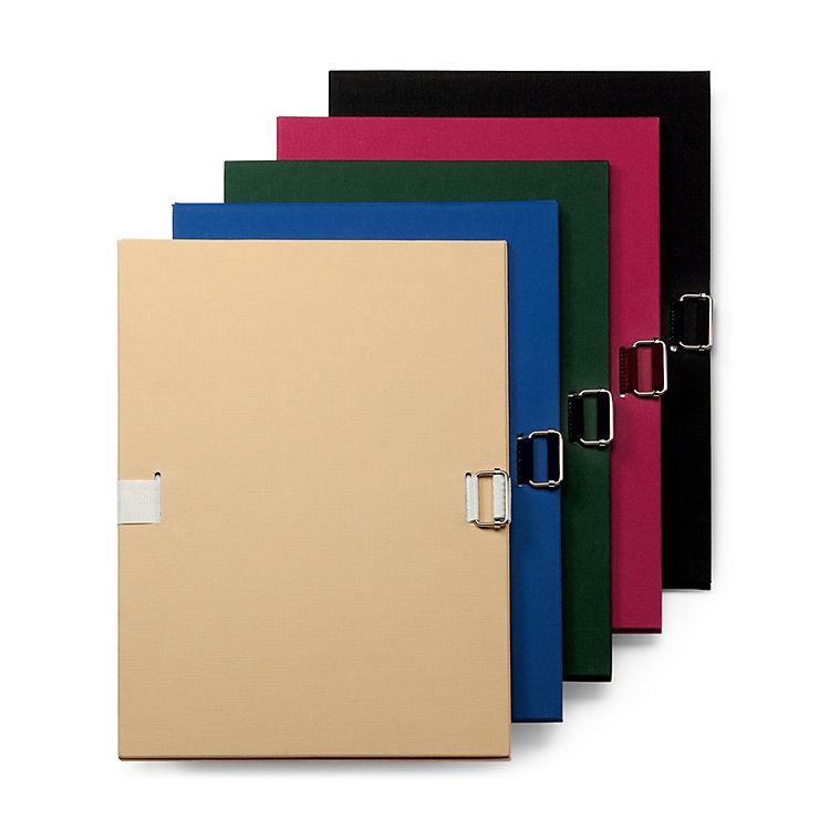 Flexible Document Folder Black