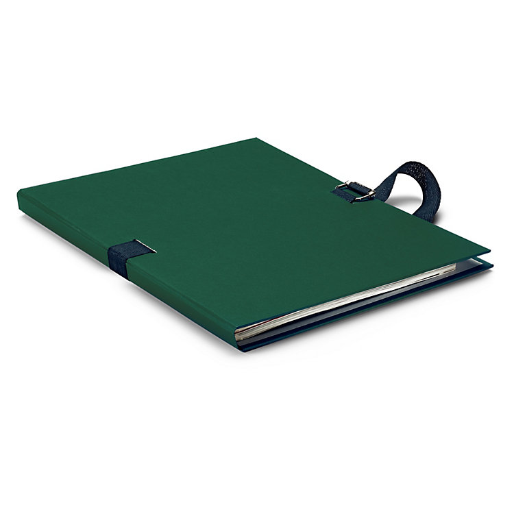 Flexible Document Folder Green