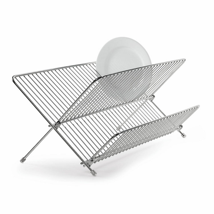 Foldable Stainless Steel Draining Rack