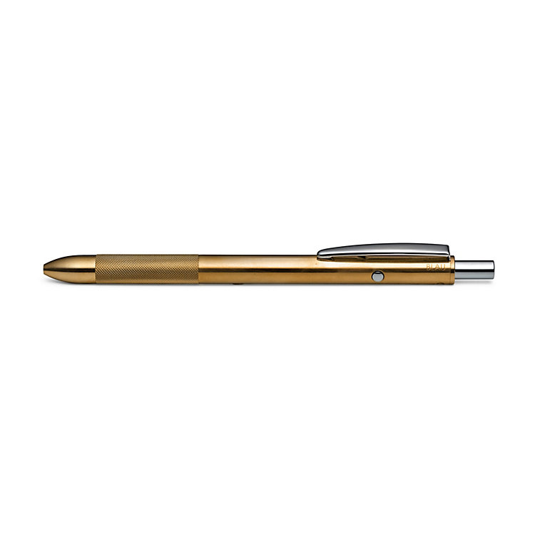 Four Options Refill Pen Made of Brass Brass