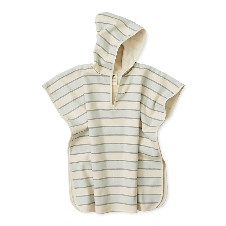 Framsohn Bathing Poncho Children Coloured Stripes