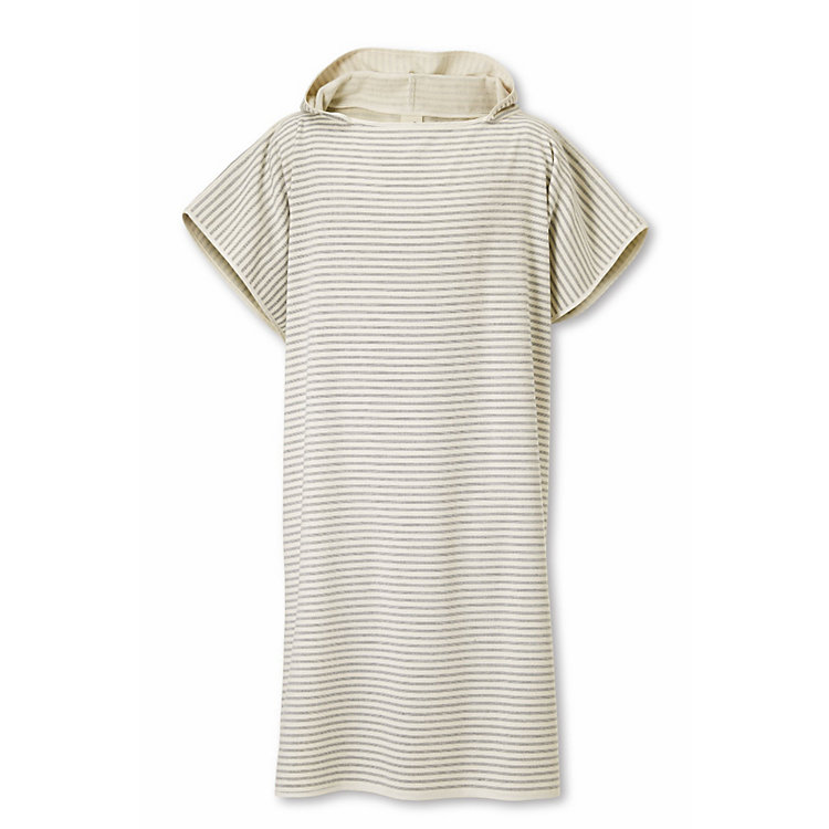 Framsohn Bathing Poncho Large, Fine Stripes