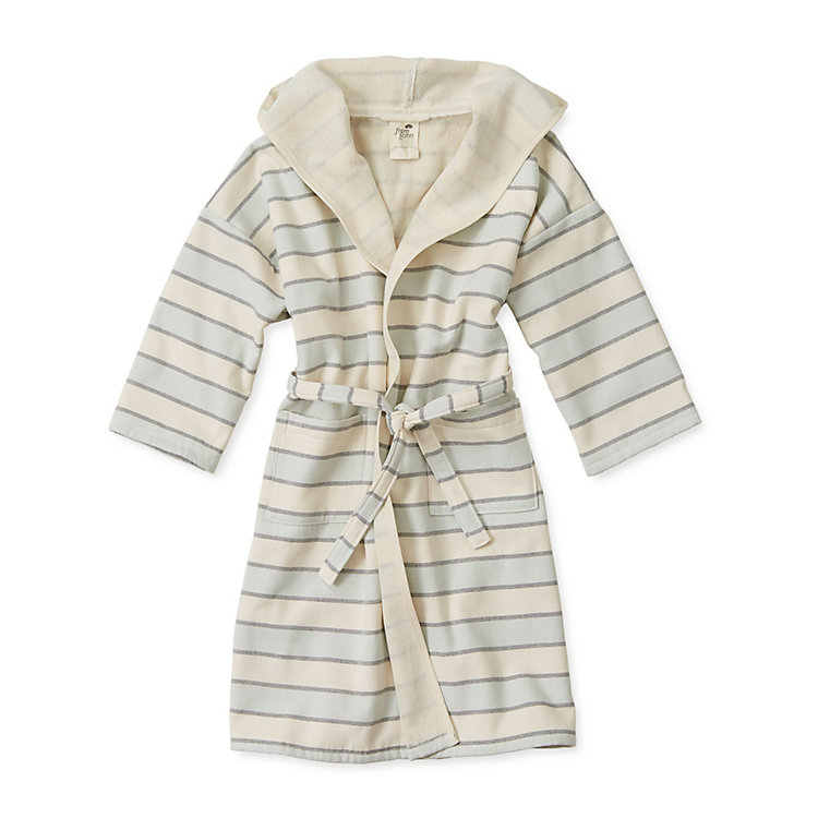 Framsohn Bathrobe Children Coloured Stripes