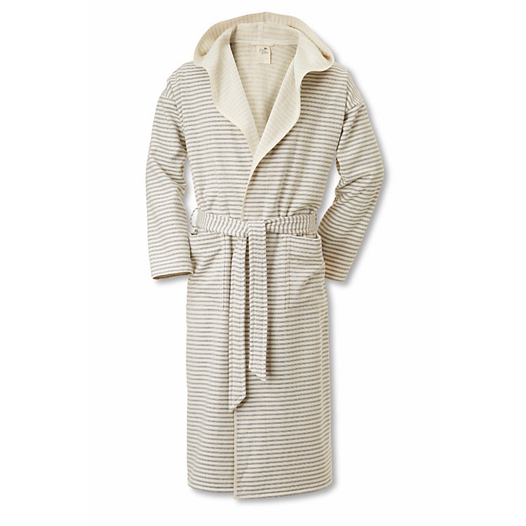 Framsohn Bathrobe Large Fine Stripes