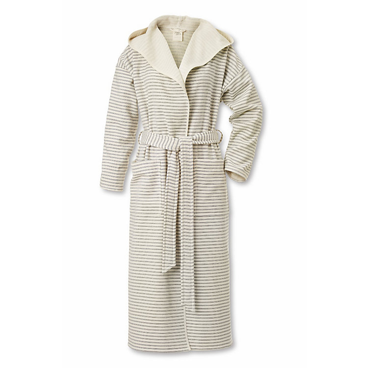 Framsohn Bathrobe Small Fine Stripes
