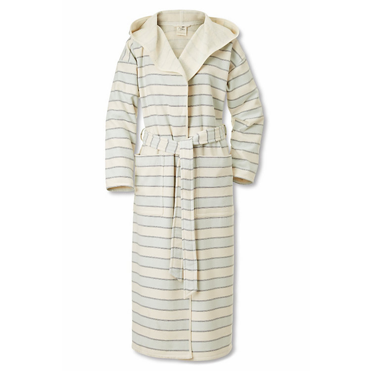Framsohn Bathrobe Small Coloured Stripes