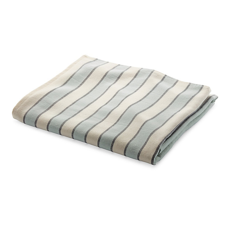 Framsohn Striped Bath Towel Coloured Stripes