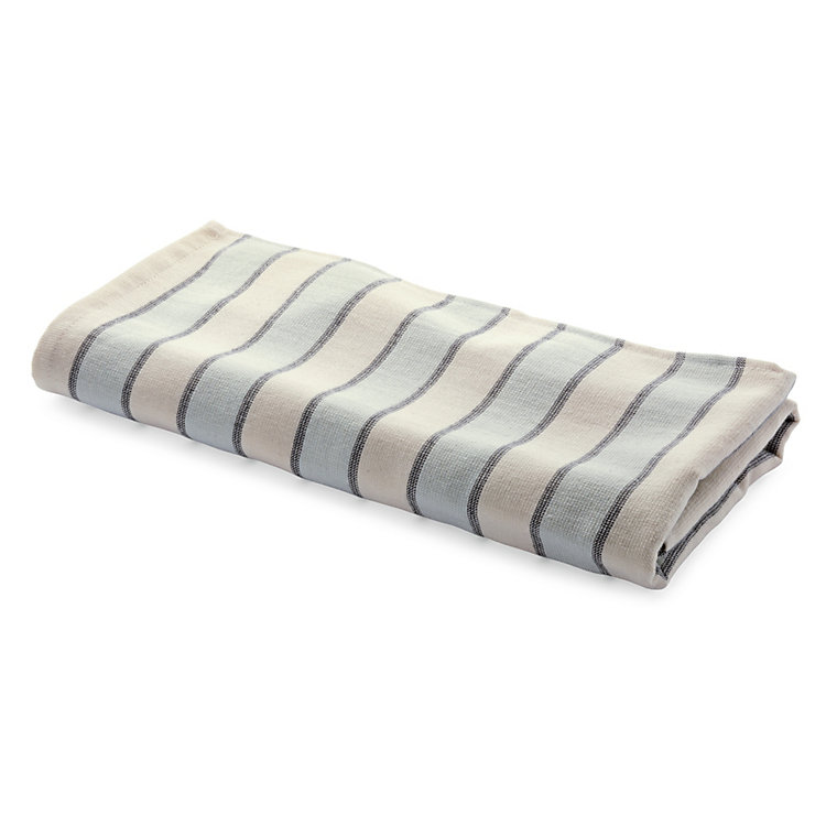 Framsohn Striped Hair Towel Coloured Stripes