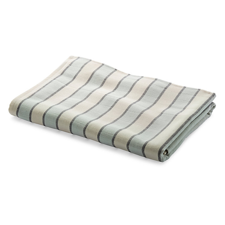Framsohn Striped Shower Towel Coloured Stripes