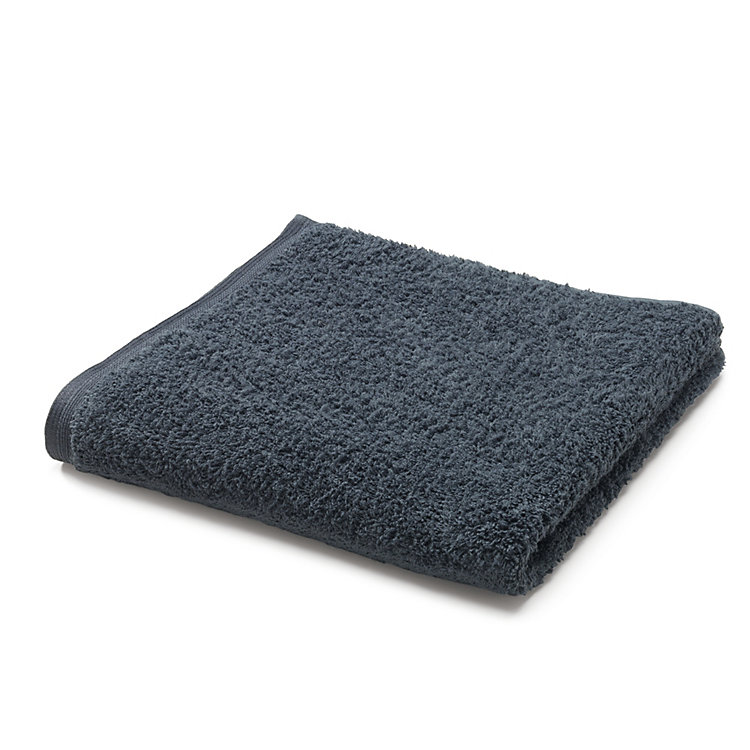 Framsohn Terry Bath Towel Anthracite