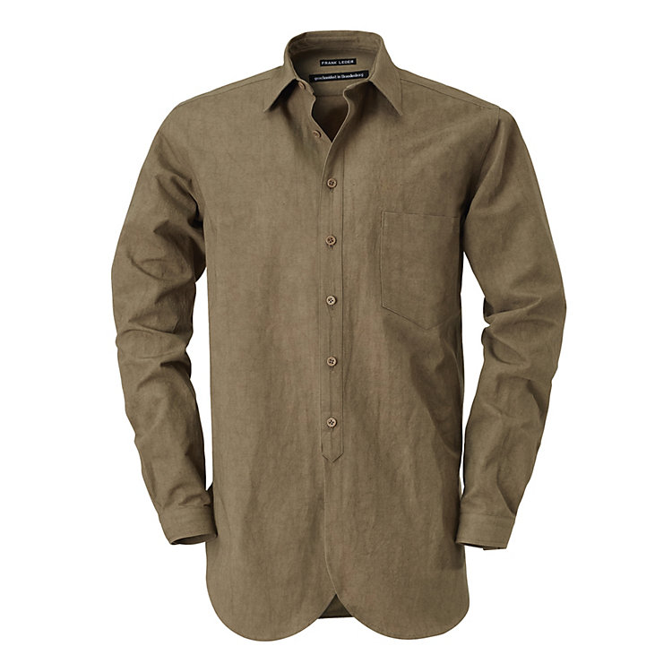 Frank Leder Men's Shirt Khaki
