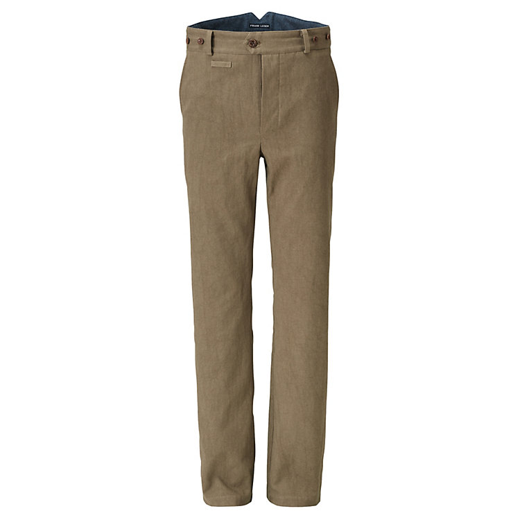Frank Leder Men's Trousers Khaki