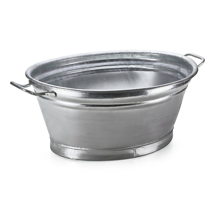 Galvanized Garden Tub