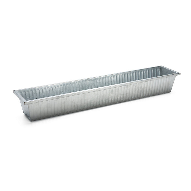 Galvanized Steel Balcony Box Large