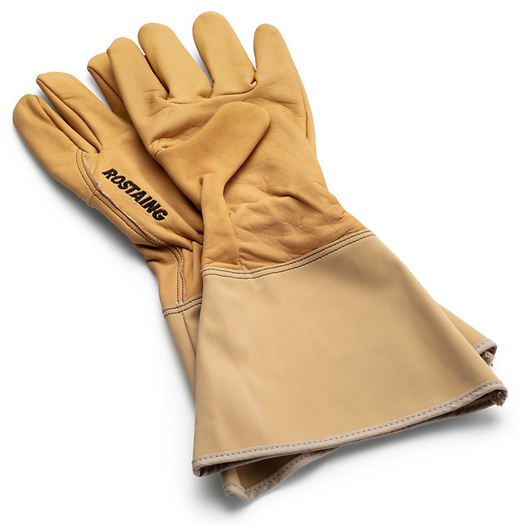 Garden Gauntlet Gloves Beige