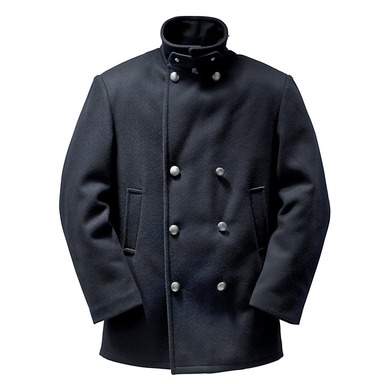 Gentlemen's Breton Caban Jacket Blue