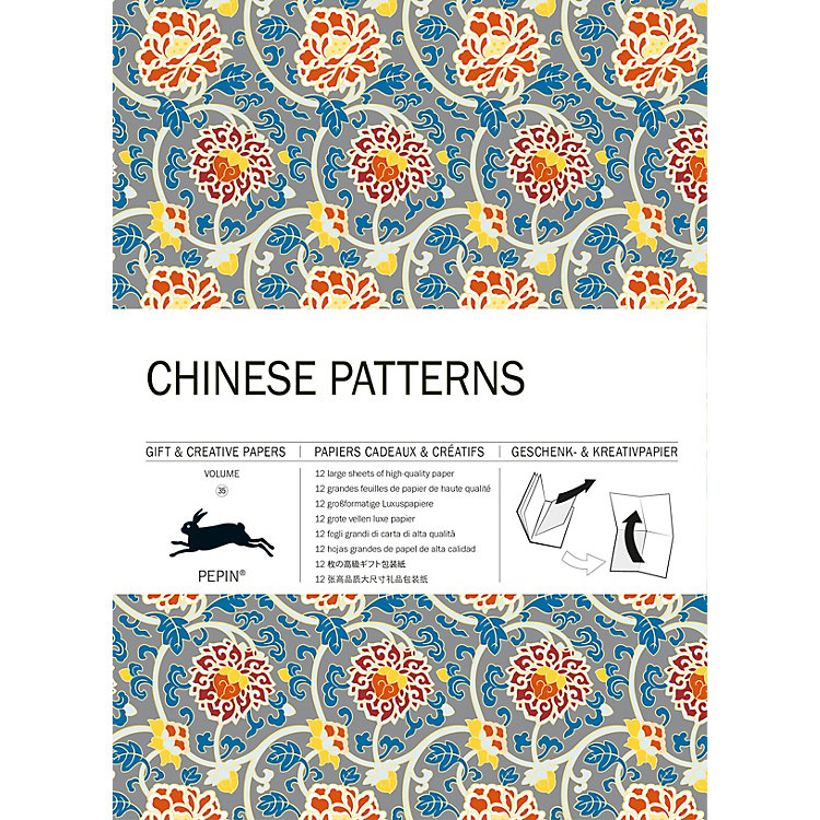 Geschenkpapier Pepin Chinese Patterns