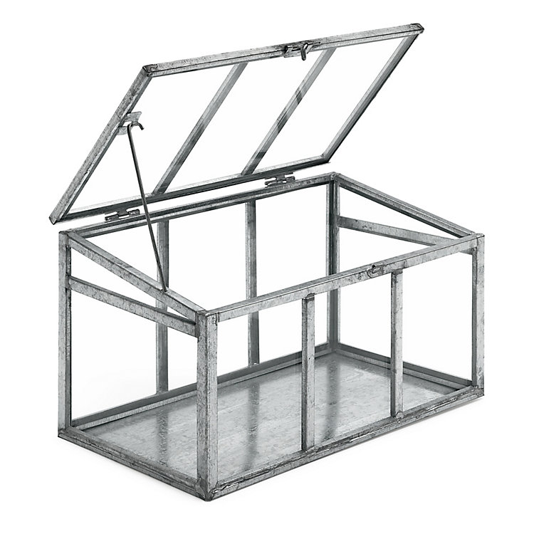 Glass / Steel Indoor Greenhouse