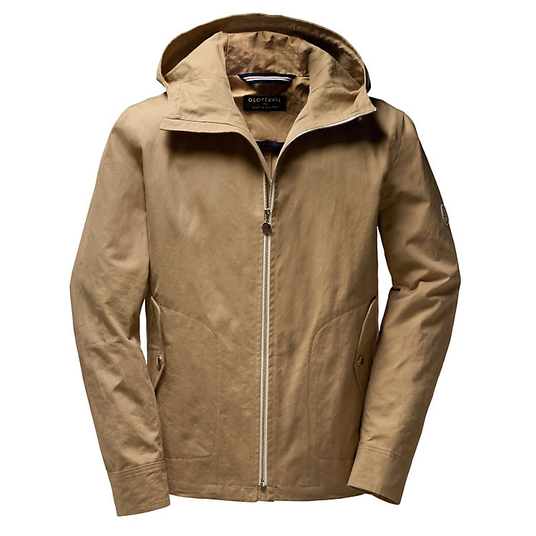 Gloverall hooded jacket Beige